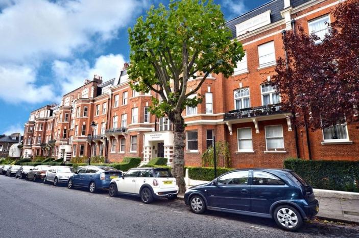 Marlborough Mansions, Cannon Hill, West Hampstead, London, NW6  - West Hampstead, North West London