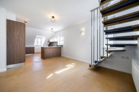 Penthouse, Turrett House, Compayne Gardens, South Hampstead, NW6  - South Hampstead, North West London